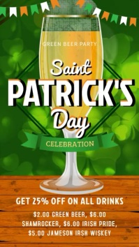 Saint Patrick's Bar Video Template