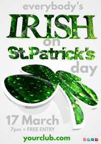 Saint Patrick's Day Poster