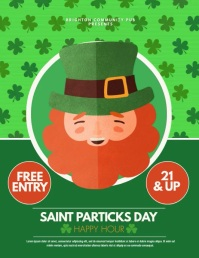 Saint Patricks Day Flyer (US Letter) template