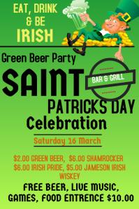 Saint Patricks Day Flyer