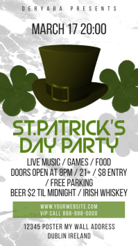 Saint Patricks Day Instagram Story Flyer