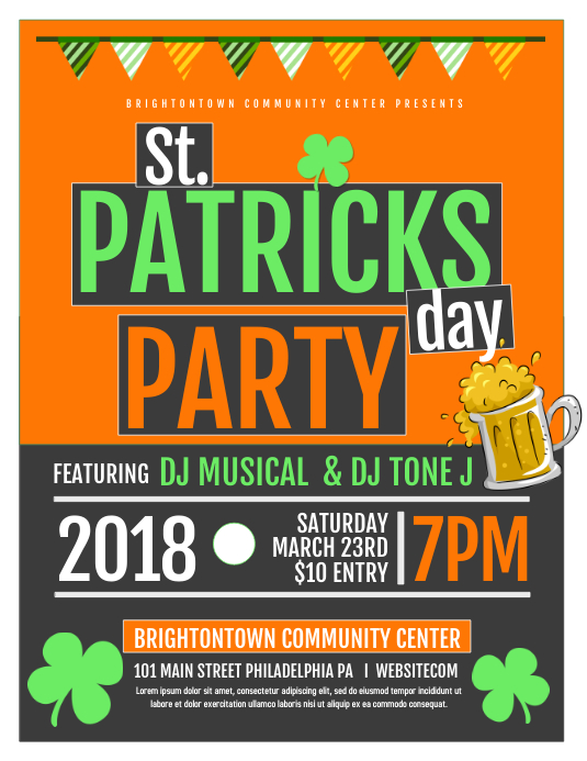 Saint Patricks Party