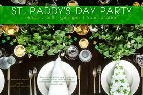 Saint Patricks Patty St Dinner Luck Irish Shamrock Green