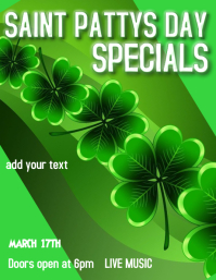 SAINT PATTYS DAY PARTY BAR PARTY