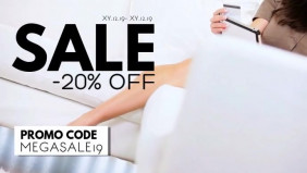 Sale Advert Online Shopping Discount Promotion Code Booking