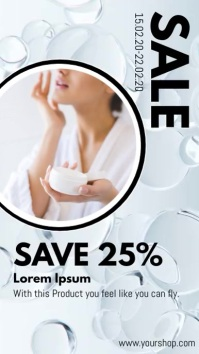 Sale Advertisement Beauty Spa Products Ad Instagram-Story template
