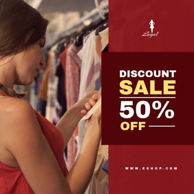 Sale - Clothing (Video Template) Album Omslag