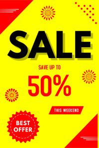Sale Плакат template