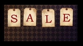 Sale discount video template