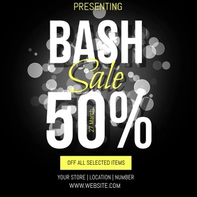 SALE EVENT FLYER AD TEMPLATE