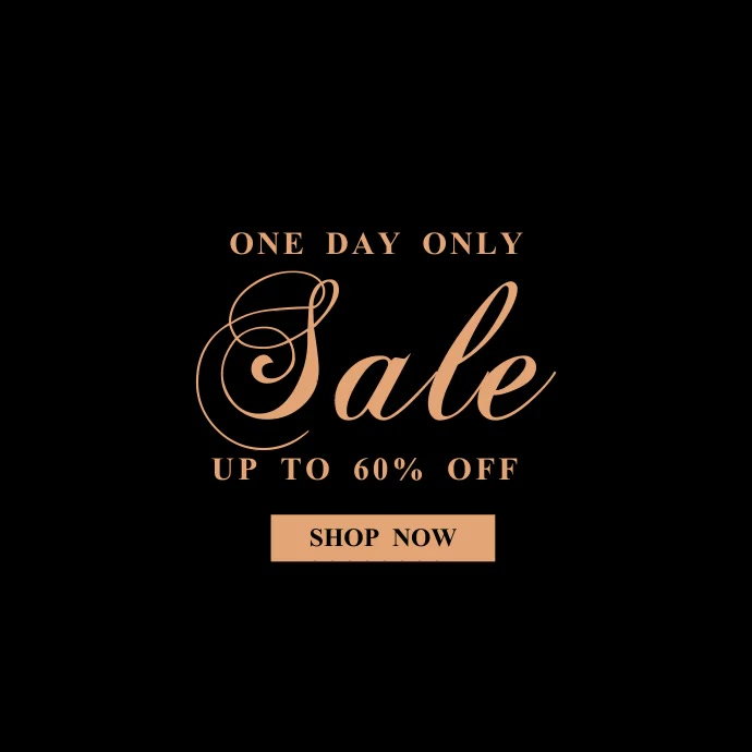 Sale Event Instagram Video