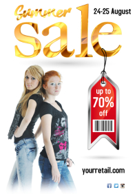 Sale Event Poster