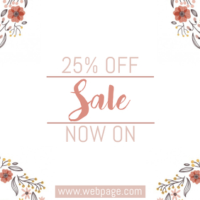 sale event template