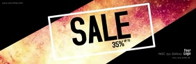 Sale Explosion Fire Hot Deals Discount Video Email Header template