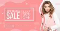 Sale Facebook Shared Post Banner template