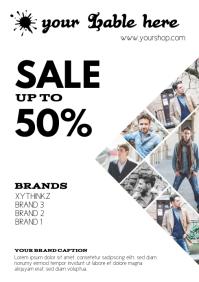 Sale Fashion Store Retail Flyer Poster Sale