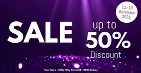 Sale Flyer Special Deals Price Off Video Ad Imagen Compartida en Facebook template