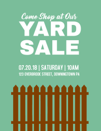 fathers day sale flyer template yard sale sale