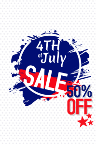 Sale for 4th of July