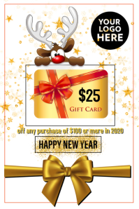 Sale gift card