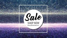 Sale Glam Glitter Shine Sparkle Video Advert