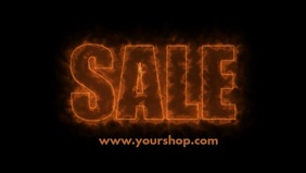 Sale Hot Fire Price Off Template retail Store