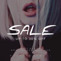 Sale Instagram Banner Template Lips