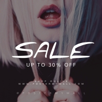 Sale Instagram Banner Template Lips