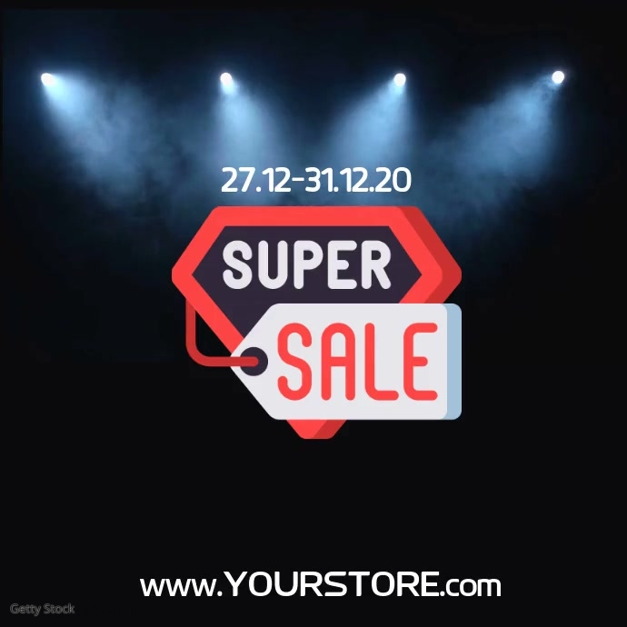sale onlineshop video advert instagram templa Template | PosterMyWall