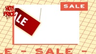 Sale Poster YouTube 缩略图 template