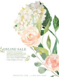 Sale Flyer (US Letter) template