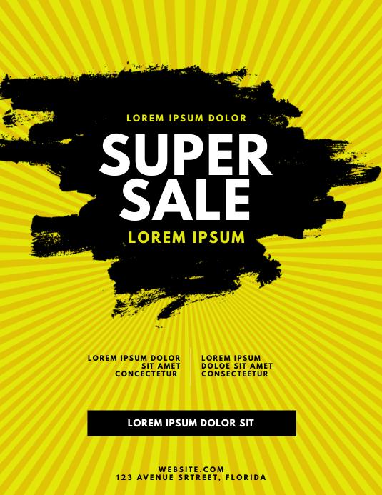 Sale Season Sale Flyer Template