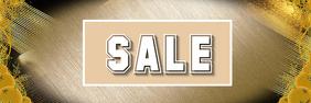 Sale shop display flyer