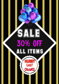 Sale Shopping, Flyer Poster, fashion Banner