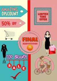 Sale Shopping Flyer