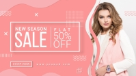 Sale Twitter Post Banner template