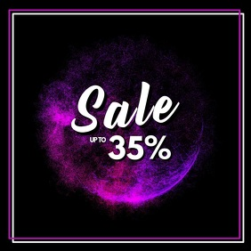 Sale video abstract advert promo beauty store retail shop