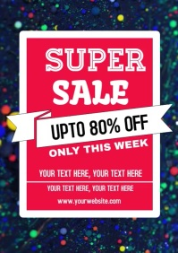 Sale Video poster flyer