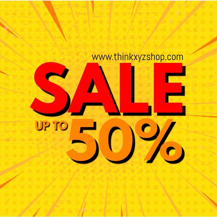 Sale Video Retro Shine Online Shop Advert Retail Store