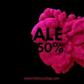 Sale Video Splash Explosion Red Black Online Shop Advert