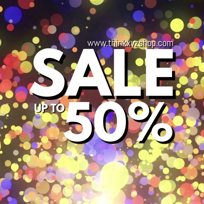 Sale Video Splash Explosion Sparkle Online Shop Advert Store