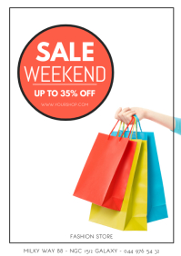 Sale Weekend Promotion Discount Fashion Shop