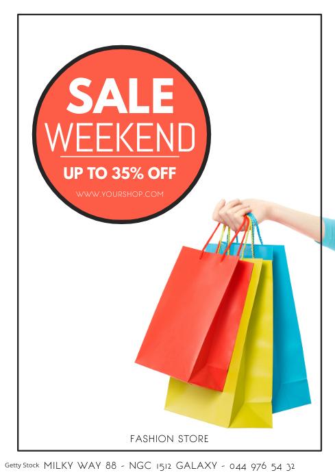 Sale Weekend Promotion Discount Fashion Shop