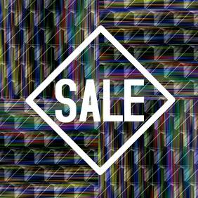 Sales discount retail shop video poster