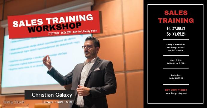 Sales Marketing Workshop Training business ad