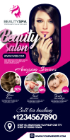 Salon banner template