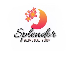 SALON BARBER SHOP LOGO DESIGN Логотип template