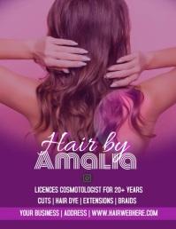 Salon Beauty Hair Flyer Video