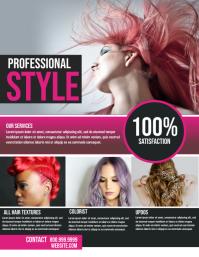 Salon Flyer (US Letter) template