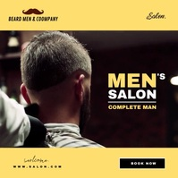 Salon for Men Video Template Copertina album